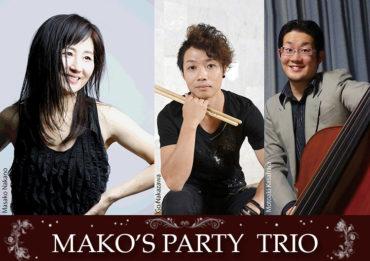 Mako's Party Trio Liveのお知らせです🎵